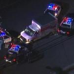 Xe tải bị xe cảnh sát đuổi gây tai nạn nghiêm trọng