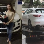 Nữ đại gia xinh đẹp mua xe sang Maserati Levante 5 tỷ đầu tiên ở VN