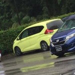 Lộ ảnh xe minivan gia đình Honda Freed 2017 trên đường thử
