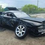 Rolls-Royce Wraith bị tai nạn bán giá gần 300 triệu đồng
