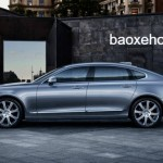 Trung Quốc được ưu ái sản xuất riêng xe Volvo S90L kéo dài