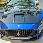 Siêu xe Maserati GranTurismo MC Stradale màu xanh tuyệt đẹp