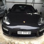 Xe sang công suất lớn Porsche Panamera Turbo S ở Hà Nội