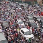 Đề xuất cấm xe máy ngoại tỉnh ở Hà Nội để giảm ùn tắc giao thông