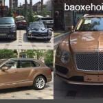 Xe siêu sang Bentley Bentayga giá khởi điểm 6 tỷ về Ninh Bình