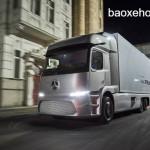 Xe tải chạy điện siêu an toàn Mercedes Urban eTruck