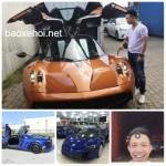 Chưa đầy 2 ngày đại gia Minh nhựa mua 3 siêu xe giá 148 tỷ đồng