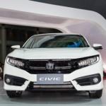 Xe Honda Civic hoàn toàn mới xuất hiện ở triển lãm xe Vietnam Motorshow 2016