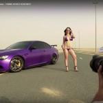 Video hoa hậu xe độ cực xinh chụp ảnh cùng dàn siêu xe khủng