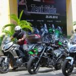 Kawasaki tổ chức chương trình lái thử xe cho khách hàng