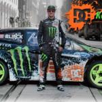Xem Ken Block lái Ford Focus RS RX drift đỉnh cao