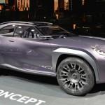 Ngắm chi tiết xe sang Lexus UX Concept ngoài đời thực