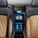 Xe siêu sang Bentley được lắp thêm quầy bar mini