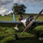Anh chàng tự chế tạo máy bay mini để đi làm hàng ngày