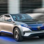 Xe sang Mercedes EQC concept chạy điện đối thủ của Tesla