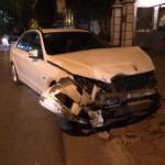 Xe sang Mercedes C250 đâm vào 3 ô tô và 1 xe máy ở Hà Nội