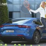 Ngôi sao quần vợt Angelique Kerber mua xe sang Porsche Panamera Turbo