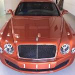 Xe siêu sang Bentley Mulsanne speed màu cam giá 30 tỷ ở Việt Nam