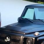 Ngắm xe sang Mercedes G63 AMG độ khủng của sao bóng đá Jerome Boeteng