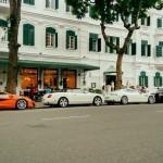 Dàn siêu xe đẹp trên đường phố của đại gia Việt Nam