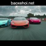 Video siêu xe Lamborghini Huracan đua tốc độ với thời gian