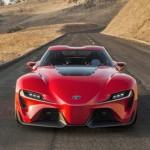 Vẻ đẹp của xe thể thao Toyota Supra hoàn toàn mới
