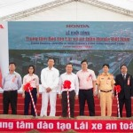 Honda xây trung tâm đào tạo lái xe an toàn ở Vĩnh Phúc