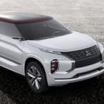 Xe SUV hạng sang Mitsubishi GT-PHEV được chờ đợi