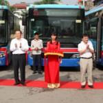Hàng loạt xe Buýt mới ở Hà Nội có Wifi miễn phí