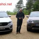 So sánh khập khiễng giữa Kia Sorento 2016 và Land Rover Discovery Sport