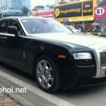 Ngắm xe siêu sang Rolls royce Ghost 2010 giá 4,8 tỷ đồng ở Việt Nam