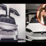 Vợ Đan Trường được mua siêu xe Tesla Model X