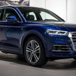 Vẻ đẹp của xe sang Audi Q5 2017 màu xanh khác lạ