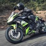 Cặp đôi siêu xe Kawasaki Ninja 650 sportbike và Z650 naked sport 2017
