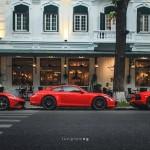Nhiều siêu xe đẹp chạy trên phố Hà Nội