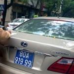 Xe ô tô dùng biển giả bị phạt thế nào ?