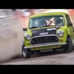 Những pha biểu diễn xe đua bốc lửa ở Austrian Rallye Legends 2016