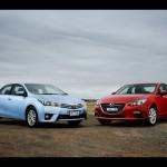 Nên mua xe giá rẻ Toyota Altis 2016 hay Mazda 3 sedan ?