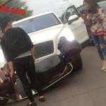 Xe siêu sang Bentley Bentayga 12 tỷ đồng bị tai nạn ở Trung Quốc