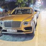 Xe siêu sang Bentley Bentayga 15 tỷ đồng biển đẹp Ninh Bình