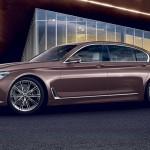 Xe sang BMW 7 series bản đặc biệt Rose Quartz