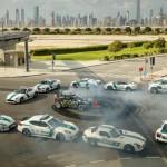 Xem tay đua lái siêu xe drift đỉnh cao ở Dubai