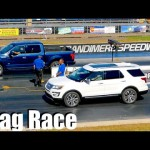 Xe Ford Explorer 2016 đua cùng đàn anh F150