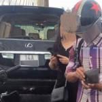 Thanh niên phóng xe exciter nhanh đâm Lexus phải đền 20 triệu đồng