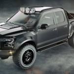 Xe bán tải Ford F-150 độ 6 bánh cực khủng bởi Hennessey