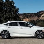 350.000 xe Honda Civic 2016 bị triệu hồi vì lỗi phanh đỗ xe điện tử