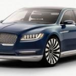 Xe sedan hạng sang Lincoln Continental 2017 bị triệu hồi