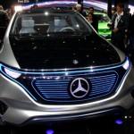 Xe SUV chạy điện tuyệt đẹp Mercedes EQ sản xuất năm 2020