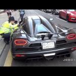 Cảnh sát nhắc nhở siêu xe không nẹt pô ầm ĩ trên đường