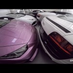 Choáng 50 siêu xe xuất hiện cùng lúc trong showroom
